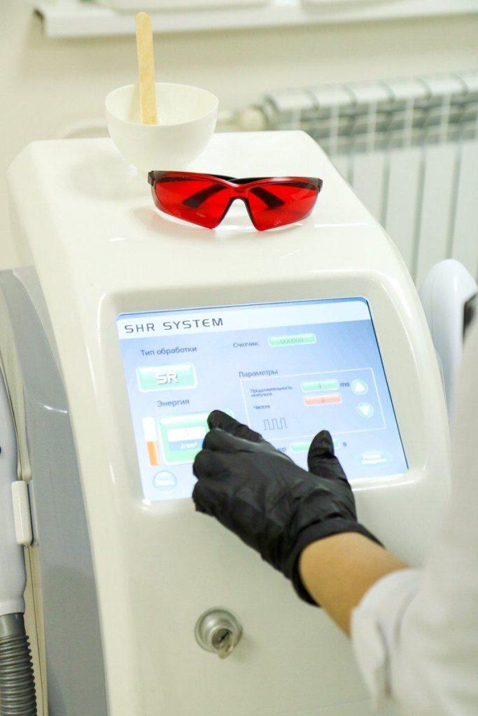 лазерная эпиляция наш аппарат